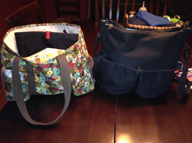31 Tote and Skip Hop Duo with #clothdiapers
